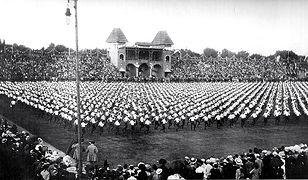 500. rocznica bitwy pod Grunwaldem - największa manifestacja w czasie zaborów