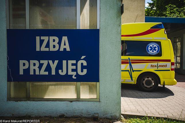 Wypadek w Warszawie.