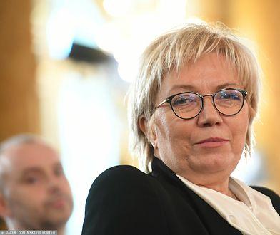 """Julia Przyłębska komentuje orzeczenie TK. """"Decyzja wynika z prawa, a nie polityki"""""""