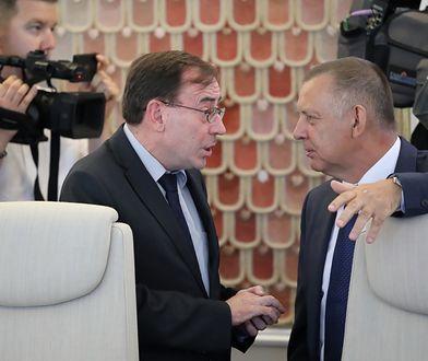 Marian Banaś i Mariusz Kamiński