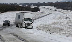 USA. Atak zimy w Teksasie. Skutki są dramatyczne
