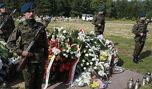 Pogrzeb polskiego żołnierza