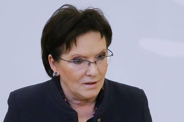 Premier Ewa Kopacz: polskie służby kontrwywiadowcze działają dobrze
