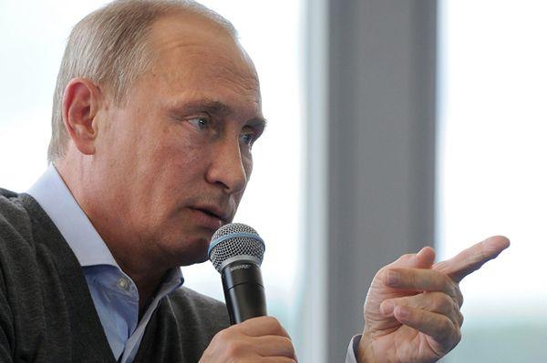 Władimir Putin: Zachód przymyka oczy na śmierć cywilów na Ukrainie