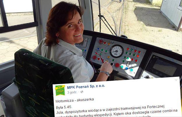 Motornicza w Poznaniu odebrała poród na przystanku. Pomogła sobie... kawałkiem parasola