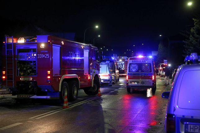 Łódź. W pożarze w kamienicy zginął 35-letni mężczyzna