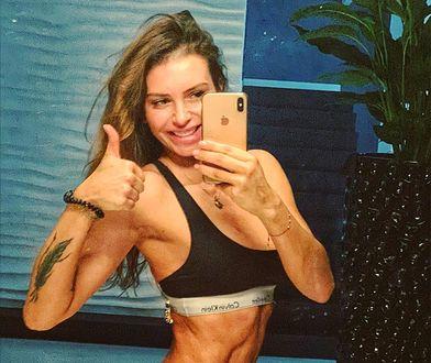 Monika Goździalska znów pochwaliła się umięśnionym ciałem
