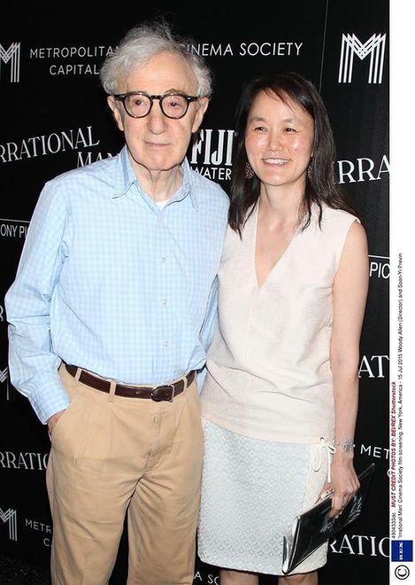 Woody Allen z żoną Soon-Yi Previn