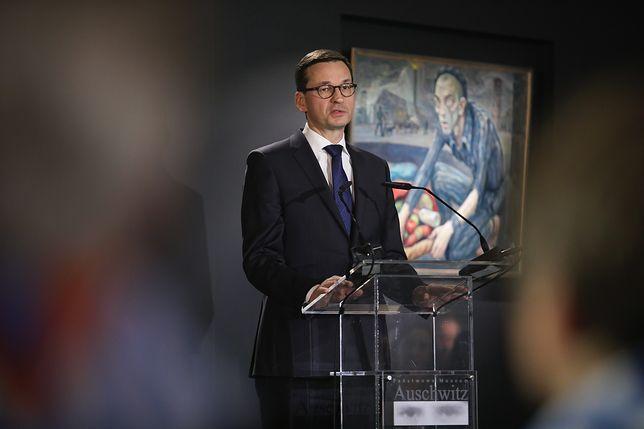 Premier podczas obchodów 73. rocznicy wyzwolenia KL Auschwitz-Birkenau