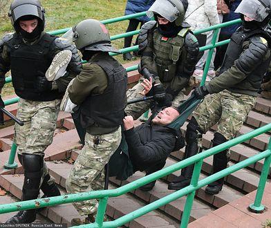 Białrouś. Służby porządkowe aresztują opozycjonistę (zdj. arch.)