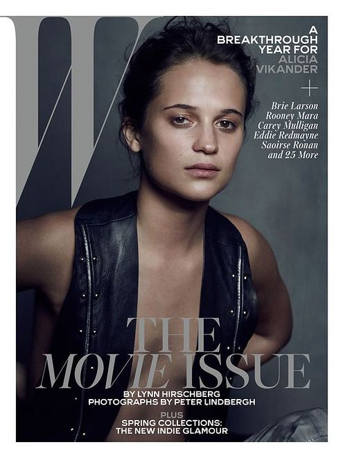"""Alicia Vikander na okładce """"W Magazine"""" - luty 2016"""