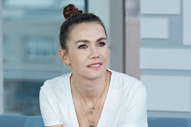 Olga Bołądź jest samotną matką