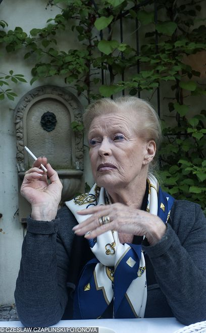 Beata Tyszkiewicz nie opływa w luksusy. Jej emerytura jest bardzo niska
