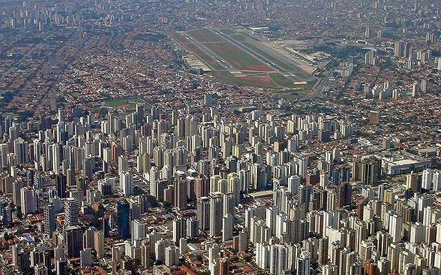 Miejsce 2. Port lotniczy Congonhas, Sao Paulo