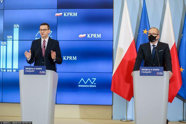 W środę odbędzie się wspólna konferencja premiera i ministra zdrowia