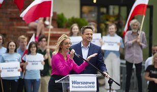 """Trzaskowska pokazała dzieci. """"Abyście budowały przyszłość w kraju, w którym prezydent nie jest obciachem"""""""