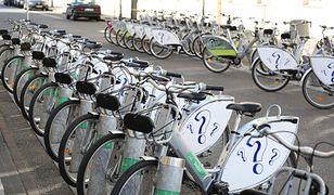 Koronawirus. Warszawa. Od 1 marca obowiązuje zakaz korzystania z rowerów publicznych.