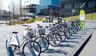 W nocy z wtorku na środę wystartują wypożyczalnie rowerów miejskich