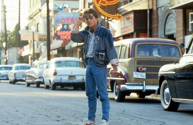 """Michael J Fox w filmie """"Powrót do Przyszłości"""""""