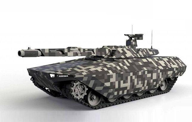 Grafika czołgu przyszłości