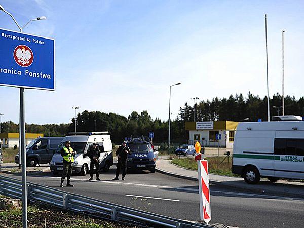 Milion nabojów i tysiąc kamizelek dla polskiej Straży Granicznej