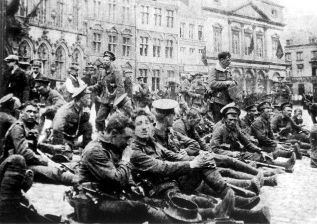 Anielscy łucznicy z Mons. Kto ocalił żołnierzy z Brytyjskiego Korpusu Ekspedycyjnego?
