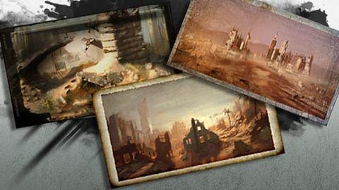 Szkice z Wasteland 2 na stronie inXile