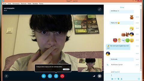 Skype zyskał nowe okno czatu, lepsze rozmowy grupowe i… utuczone emotikony
