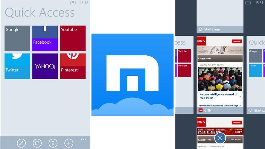 Maxthon zawitał na Windows Phone