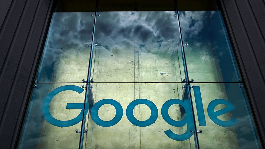 Logo Google'a. Zdjęcie ilustracyjne (Getty Images)