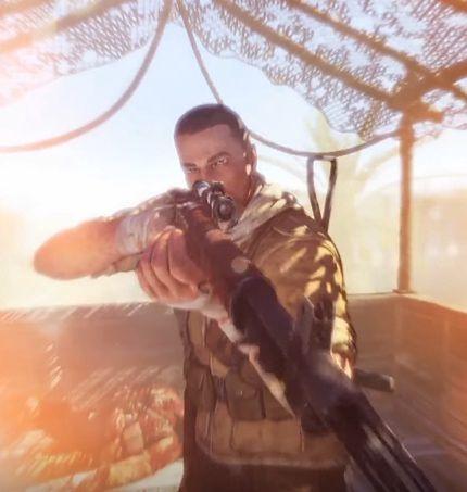 Kadr z gry Sniper Elite III