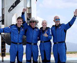 Faux pas w kosmosie. Zaskakujące słowa nastolatka do Jeffa Bezosa
