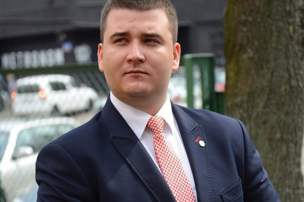 Rzecznik MON Bartłomiej Misiewcz