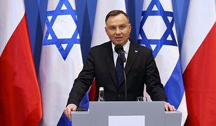 Wyniki wyborów 2020. Andrzej Duda otrzymał gratulacje od Światowego Kongresu Żydów