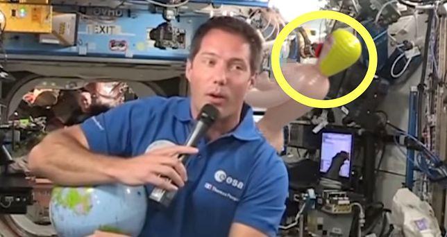 Konferencja prasowa z udziałem kosmonauty przejdzie do historii