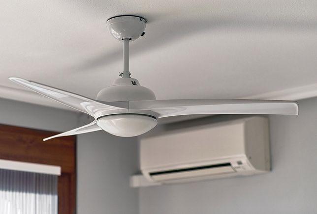 Wentylator sufitowy z lampą może być głównym oświetleniem górnym w pomieszczeniu