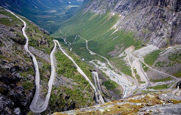 Droga Trolli, Norwegia