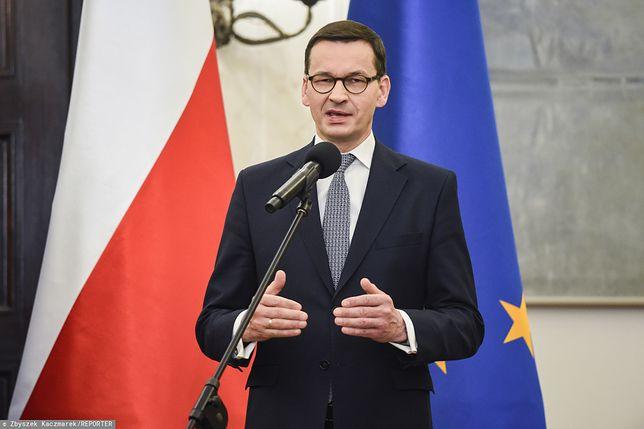 Mateusz Morawiecki ostro o materialne stacji TVN.