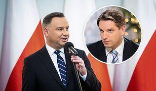 Tomasz Lis pochwalił się sukcesem córki. Pogratulował mu Andrzej Duda