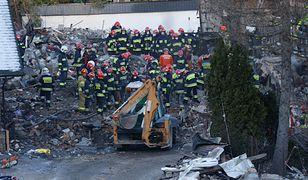 Szczyrk. Akcja ratownicza po wybuchu gazu w budynku