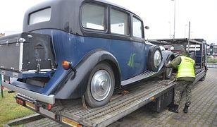 Rolls-royce z 1937 roku zatrzymany na przejściu granicznym