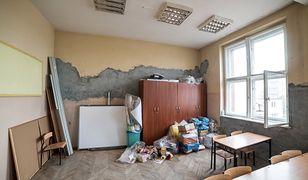 Prace budowlane w szkole podstawowej nr 2