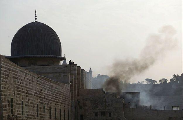 Starcia izraelskiej policji z Palestyńczykami na Wzgórzu Świątynnym