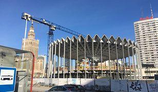 Trwa budowa Nowej Rotundy