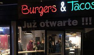 Nowe miejsce: Burgers & Tacos