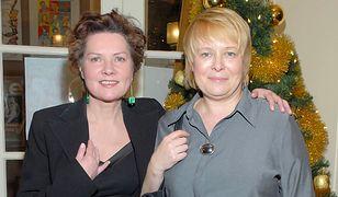 Agnieszka Kotulanka i Ilona Łepkowska w 2007 r.
