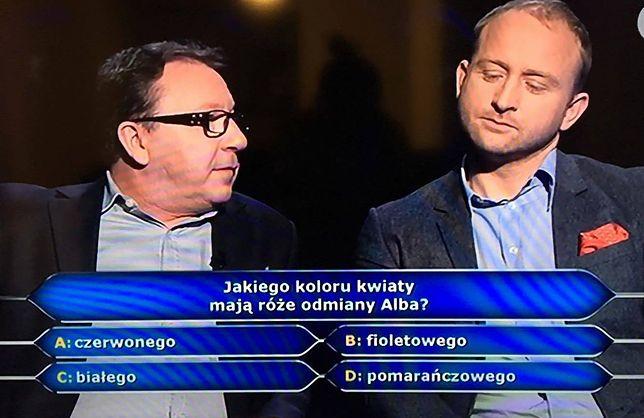"""Zbigniew Zamachowski i Borys Szyc spróbowali swoich sił w """"Milionerach"""""""