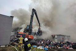 Gigantyczny pożar w Kamieńcu. W akcji kilkadziesiąt jednostek