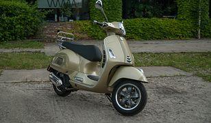 Piaggio Vespa GTS 125 - łatwo ją pokochać, tylko ta cena...