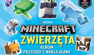 Minecraft. Zwierzęta. Album przygód z naklejkami